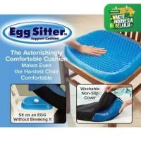 Bantal Alas Duduk Silikon Gel Empuk Mobil Kursi Egg Sitter Sofa