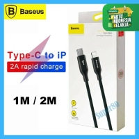 Baseus Type C to Lightning Cable PD 18W Kabel Fast Charge iPhone 1m 2m