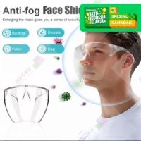 Face Shield Pelindung Droplet Acrylic Bening Original