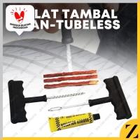 Alat Tambal Ban Mobil Motor Truk Truck Tubeless Tire Repair Kit