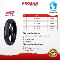 Ban Motor FDR TL SPORT XR EVO 100/80 Ring 17 Tubeless