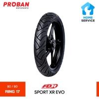 Ban Motor FDR TL SPORT XR EVO 80/80 Ring 17 Tubeless