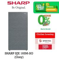 Kulkas 1 Pintu Sharp SJ-X 165 M Grey
