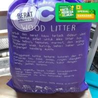 Lucky Wood Pellet Pet Litter Pasir kucing, hamster, rabbit, burung