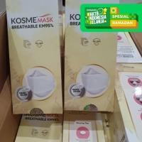 KOSME MASK BREATHABLE KM 95 NANO SILVER 4 PLY MASKER MEDIS