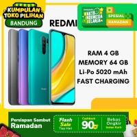 Xiaomi Redmi 9 4/64 Ram 4GB Internal 64GB Garansi Resmi Xiaomi