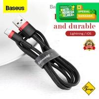 Kabel Data iPhone Baseus Lightning Kevlar Cable Fast Charge Original