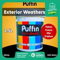 Cat tembok exterior Puffin Guard 2.5L tahan cuaca min 6 thn