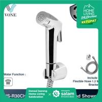 VONE HS-R30CH Toilet Shower Set Jet Bidet Cebok Kloset Closet Chrome