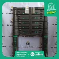 Tangga Lipat Aluminium Teleskopik 3.8M / 4.4M Single Telescopic Ladder