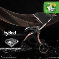 Hybrid Curve Diamond Black Rose Gold / Stroller Hybrid Curve