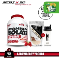 SAN Titanium Whey Isolate Supreme 5 lb - Strawberi