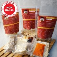 Paket Bakmi Mix (Babi Jamur, Babi Rica, Ayam Jamur) - BAKMI SHIFUYO