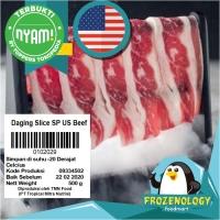 100% USA Beef Bifuyaki Yakiniku Shabu Sukiyaki Daging Slice Siap Kirim