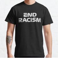 Baju Kaos End Racism F1 Design T-Shirt