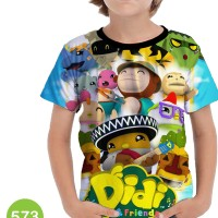 Baju Didi & Friends Kaos Series Anak #573