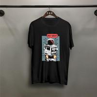 T-shirt Ast Koran / Baju Kaos Distro Pria Wanita Cotton 30s