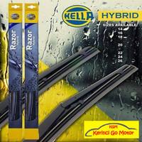 "Wiper Hella Razor Hybrid 17"" - Best Wiper Hybrid Razor Hella"
