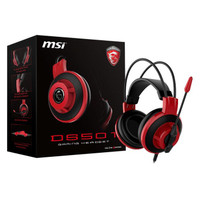 HEADSET GAMING MSI DS501 - MSI GAMING HEADSET DS 501