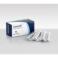Anazole 1mg ECER 10 tablets/strip Alpha Pharma Arimidex Anastrozole Al