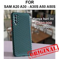 Aero case Samsung A20 A30 A30s A50 A50s casing back cover silikon tpu