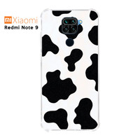 Casing Custom Case Xiaomi Redmi Note 9 Softcase Anticrack Motif Sapi
