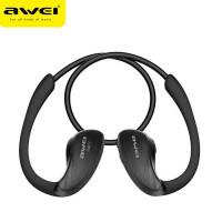 AWEI Bluetooth Earphone Headset dengan NFC - A885BL [Hitam]