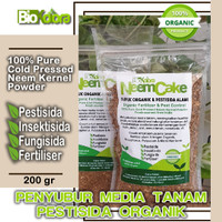 Penyubur Media Tanam Neem Cake Pestisida Nabati Anti Hama dan Jamur