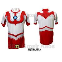 Baju Ultraman DEWASA Baju Superhero 3D Katun Premium #FPS-33
