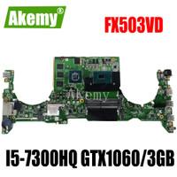 DABKLMB28A0 For Asus TUF Gaming FX503 FX503V FX503VD Laptop mainboard