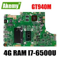 AKEMY TP501UB Laptop Motherboard For Asus VivoBook Flip TP501U