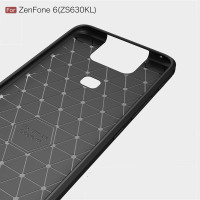 Case Asus Zanfone 6 ZS630KL Rugged Carbon Premium Softcase SHO