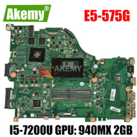 E5-575G motherboard Mainboard For Acer E5-575 F5-573 laptop ZAA X32
