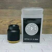 RDA Artha 24mm Automizer Vape Vapor Bisa Single Coil