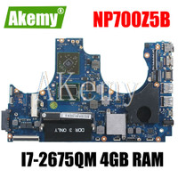 Laptop motherboard For SAMSUNG NP700Z5A NP700Z5B I7-2675QM HD 7470M