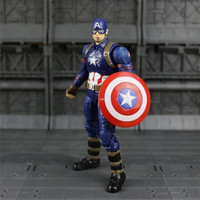 Mainan Action Figure Super Hero Captain America Marvel Keren Koleksi