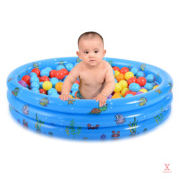 Kolam Renang Tiup Bentuk Bulat Untuk Bayi/Anak