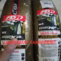 Terbaik Ban Fdr Soft Compound Mp 76 Sport Xr 90/80-14 For Matic Hot