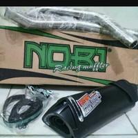 Ternama Knalpot Recing Nobi Neo Ss Motor Matic Honda Beat New Fi