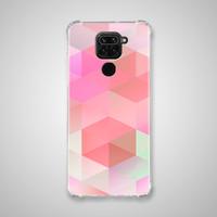 Xiaomi Redmi NOTE 9 Casing Soft Case Anticrack Motif Pink BA20 0137