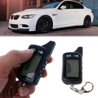 2 Way Car Alarm Keyless Entry Remote Start System For Tomahawk