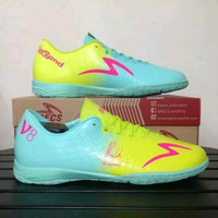 Sepatu futsal specs murah accelerator exocet v8 legend series gem b