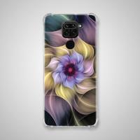 Xiaomi Redmi NOTE 9 Casing Soft Case Anticrack Motif Bunga BA20 0006