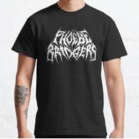 Baju Kaos Phoebe Bridgers - Black Metal Band Logo Design T-Shirt