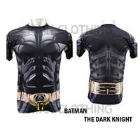 Baju Batman Dewasa Kaos Kaos Superhero Full Printing 3D #FPS-47