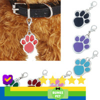 High Quality Bandul / liontin paw nama untuk Kalung Anjing dan Kucing