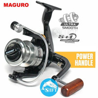 MAGURO PACU 1000 - 8000 power handle smooth | Reel spinning pancing