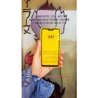 Tempered Glass Full Lem Temper Glass Anti Gores Kaca Xiaomi Mi 8 Lite