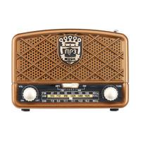 PS Retro AM 5131629KHz SW FM 87108MHz Radio AUX USB TF Card b