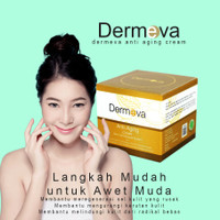 Cream Korea Penghilang Flek Hitam | Anti Aging Serum Dermeva Terlaris